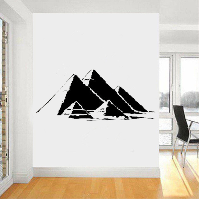 egyptian pyramids wall decals sacred symbol vinyl sticker home
