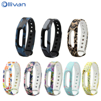Ollivan Silicone Strap for Xiaomi mi band 1S Strap For Mi Band 1S & 1A smart wristbands Colorful Bracelet band for mi band 1S 1A