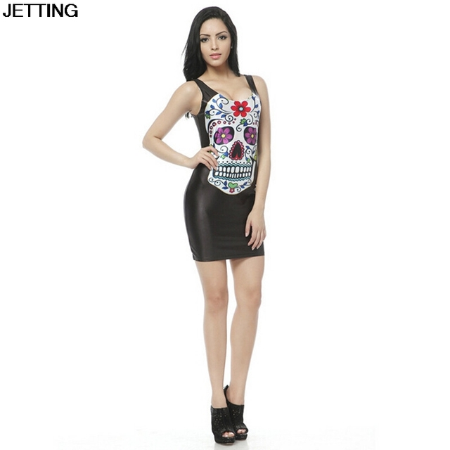 Novetly Sexy 3D Lord of The Ring Dress Casual Printed Women Dress Star Wars Galaxy Black Print Dress