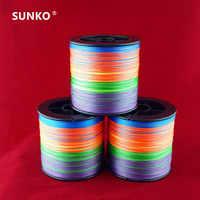 Suficiente 300M 1000M marca SUNKO 8 ~ 70LB súper fuerte multifilamento japonés Material PE trenzado sedal