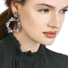 New Arrival Bohemian Multicolor Dangle Drop Earrings For Women Fashion Statement Charm Luxury Party Wedding Jewelry Maxi Bijoux