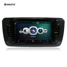 7 Android Quad core HD mirror link Car DVD Radio CD Player Stereo for Ciat Ibiza 2013 with rotating UI RDS WIFI GPS navi CANBUS