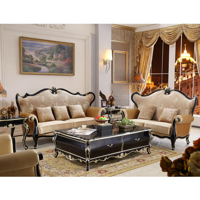 US $2799.0 |Living room furniture leather expensive europe design classical  sofa chair set-in Living Room Sets from Furniture on AliExpress