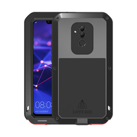 Armor For Huawei Mate 20 Lite Case Heavy Duty Aluminum Metal Waterproof Shockproof Cover Phone Case For Huawei mate20 Lite