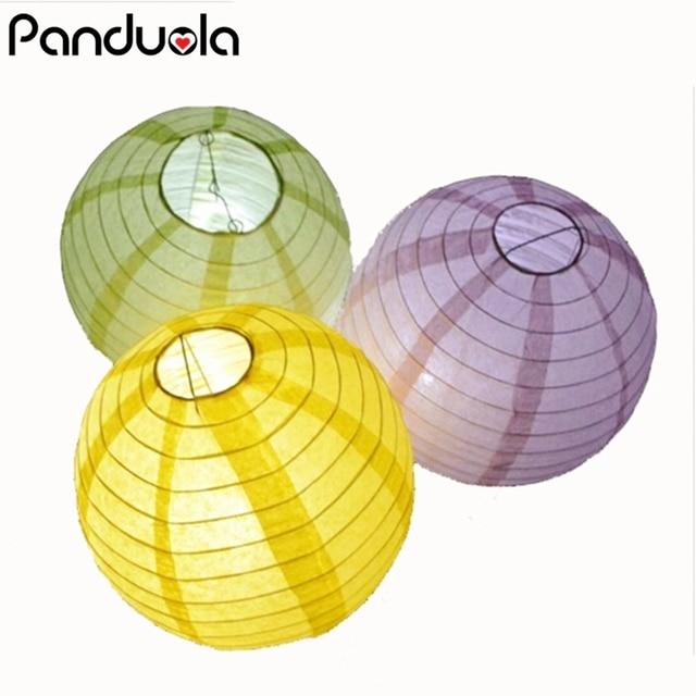 3cd05248d260e 15 cores Bola De Papel Lanternas Chinesas de Papel Para Festa de Casamento  E Decoração Pendurar