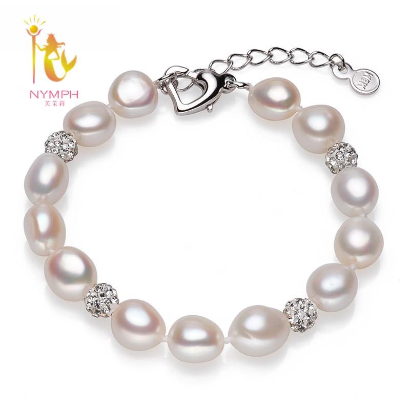 Bracelet baroque deau douce naturelle nymphe, bracelets de perles baroques 9-10mm 2 couleurs au choix S20Bracelet baroque deau douce naturelle nymphe, bracelets de perles baroques 9-10mm 2 couleurs au choix S20