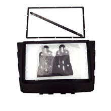 ITYAGUY 2DIN 2 DIN Car Fascia Frame for HYUNDAI CRETA IX25 2014 stereo facia frame panel dash mount kit adapter trim