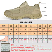 FREE SOLDIER Outdoor Tactical Sport Men's Shoes For Hiking Camping Climbing