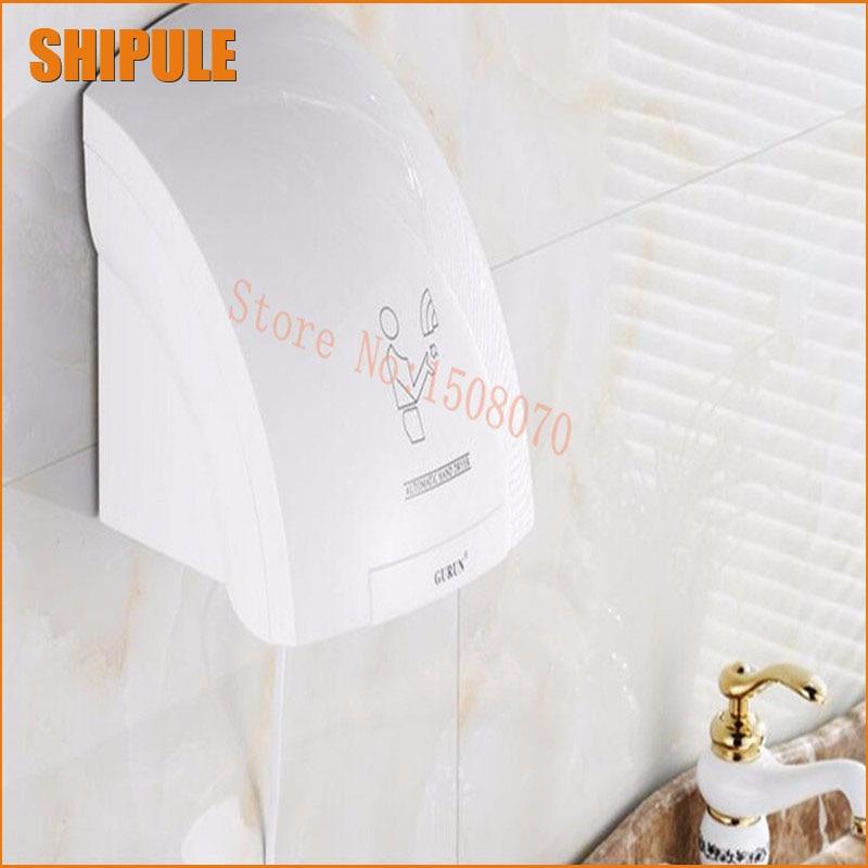 Dryers hand dryer hand dryer hand dryer Bathroom phone blowing speed automatic sensor hand-washing and drying machine shanghai kuaiqin kq 5 multifunctional shoes dryer w deodorization sterilization drying warmth