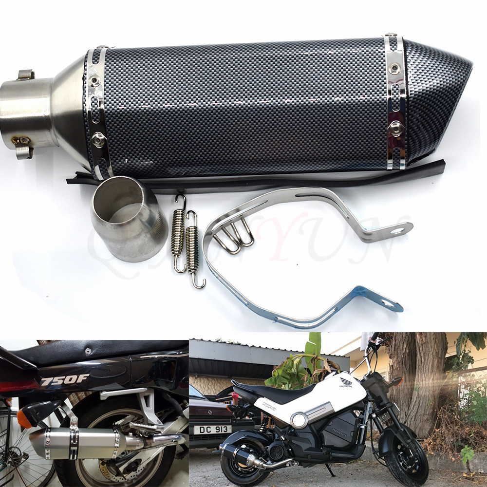 for Motorcycle parts Exhaust Universal 51mm Stainless Steel Motorbike Exhaust Pipe For BMW K1600 K 1200 1300 S/R/GT R1200R/S/GS hot new motorcycle stainless steel new s s header exhaust head pipe for suzuki drz400 drz400s drz400sm 00 13 exhaust powerbomb
