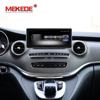 Fit for Mercedes BENZ V CLASS 639 2015 2016 2017 Android car gps navigation dvd player with 4G LTE wifi BT 3GB RAM 32GB ROM