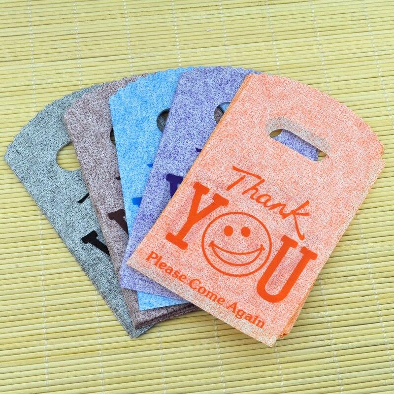 Оптовая продажа, компактные пластиковые подарочные мешочки для ювелирных изделий 50 шт./упак. 9*15 см, милые стильные маленькие мешочки для упа...