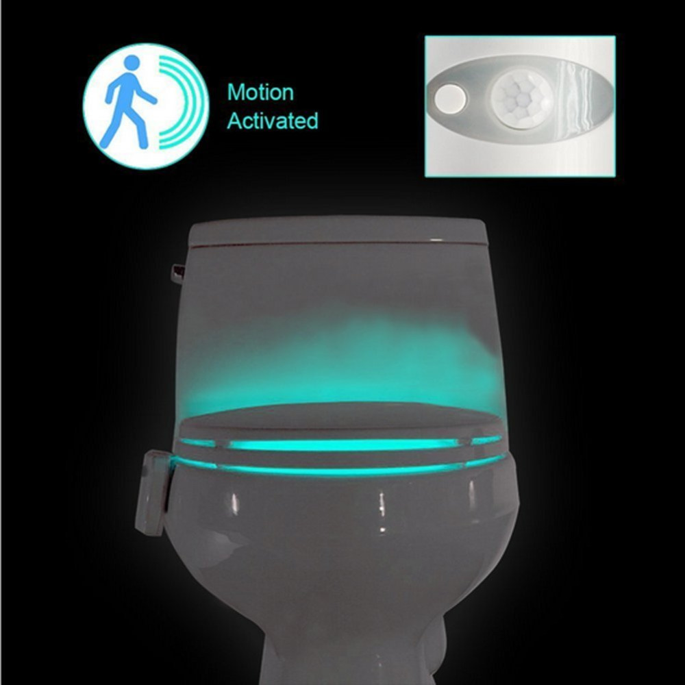 Luzes da Noite sensor de movimento de coquimbo Function 1 : Motion Activated Pir Automatic Toilet Light