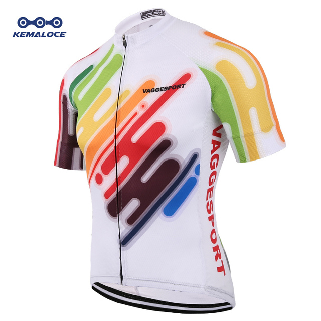 Best Offers 2019 Colorful Unique Cycling Jersey Anti-Uv Free Outdoor Racing Bicycle  Cycling Shirts 53a7afd74
