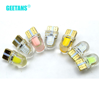 GEETANS 1pcs New T10 Wedge Car LED Light bulbs 192 168 194 W5W 2825 158 Cool White wholesale BG image