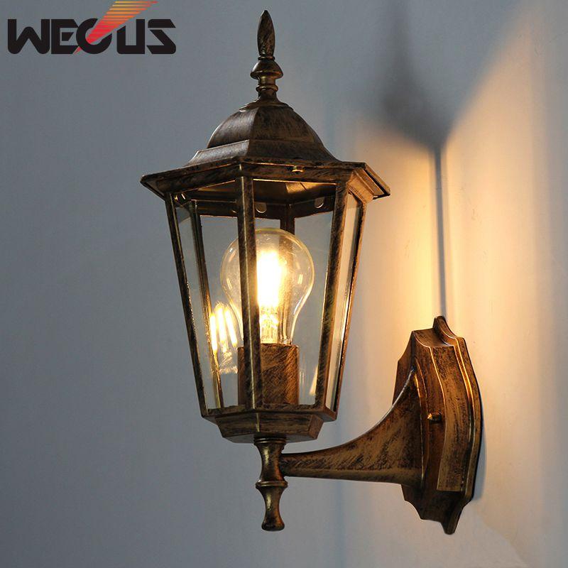 villa varanda lampada sem fonte de luz 03