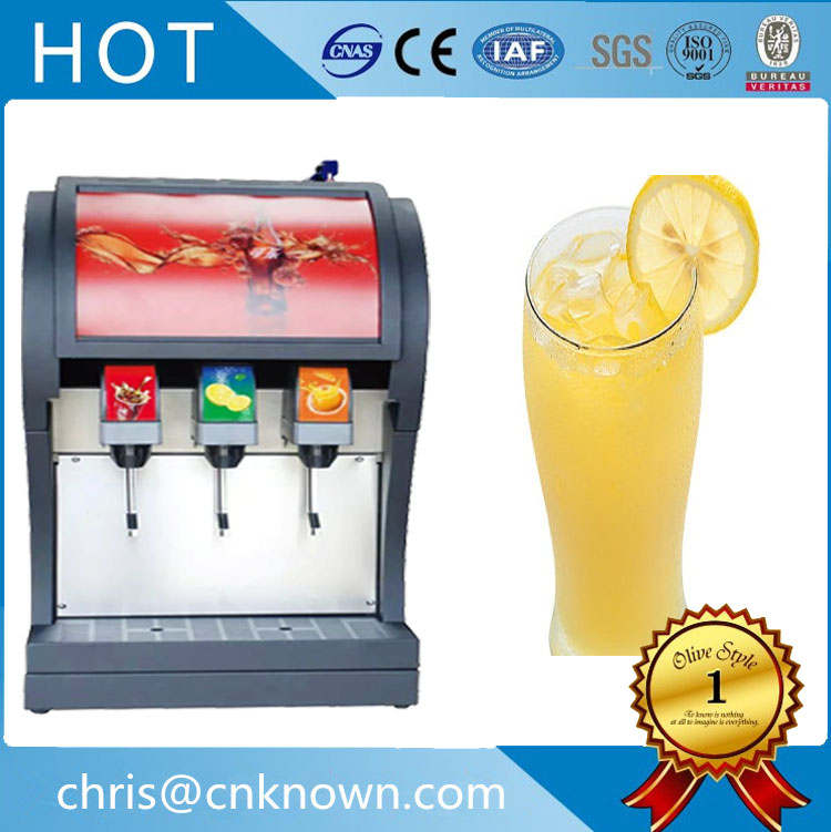 Soda fountain beverage dispenser machine three pumps and three valves for sale