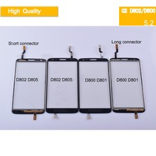 10Pcs For LG Optimus G2 D800 D801 D802 D803 D805 G2 Touch Screen Touch Panel Sensor Digitizer Front Glass Outer Lens Touchscreen все цены