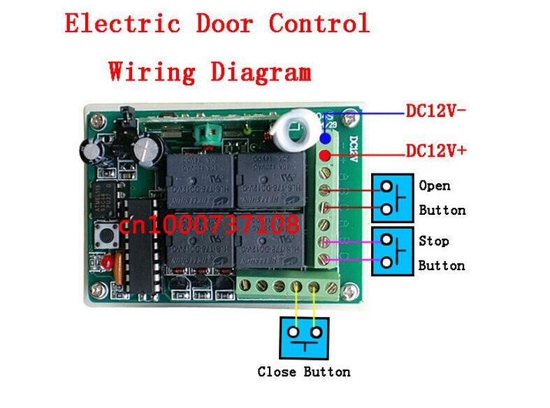 ak new 12v 4 channel rf wireless remote control switch receiver rh aliexpress com