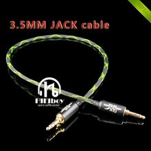 HIFIboy hi end 3 5mm jack cable 3 5mm to 3 5mm Male plug Line In