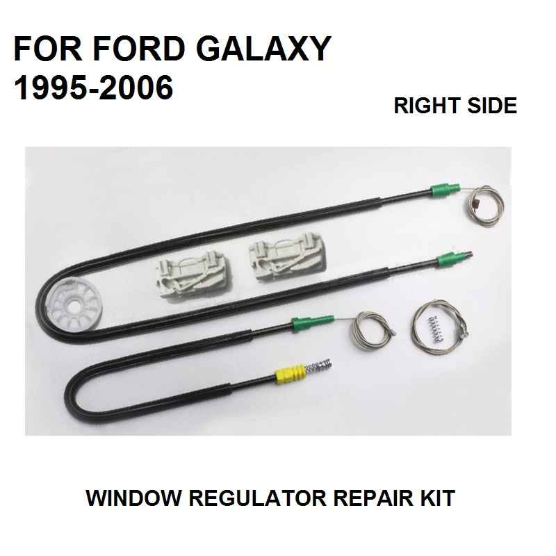 CAR PARTS FOR FORD GALAXY WINDOW REGULATOR REPAIR KIT 4/5 - DOOR FRONT RIGHT 1995 To 2006 NEW