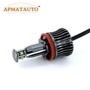 Image 3 - 2x H8 ข้อผิดพลาดฟรี 40 W 2400lm XPE ชิป LED Angel Eye Marker หลอดไฟสำหรับ BMW E60 E61 E70 e71 E90 E92 E93 X5 X6 Z4 M3