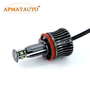 Image 3 - 2x H8 Error Free 40W 2400lm XPE Chips LED Angel Eye Marker Lights Bulbs For BMW  E60 E61 E70 E71 E90 E92 E93 X5 X6 Z4 M3