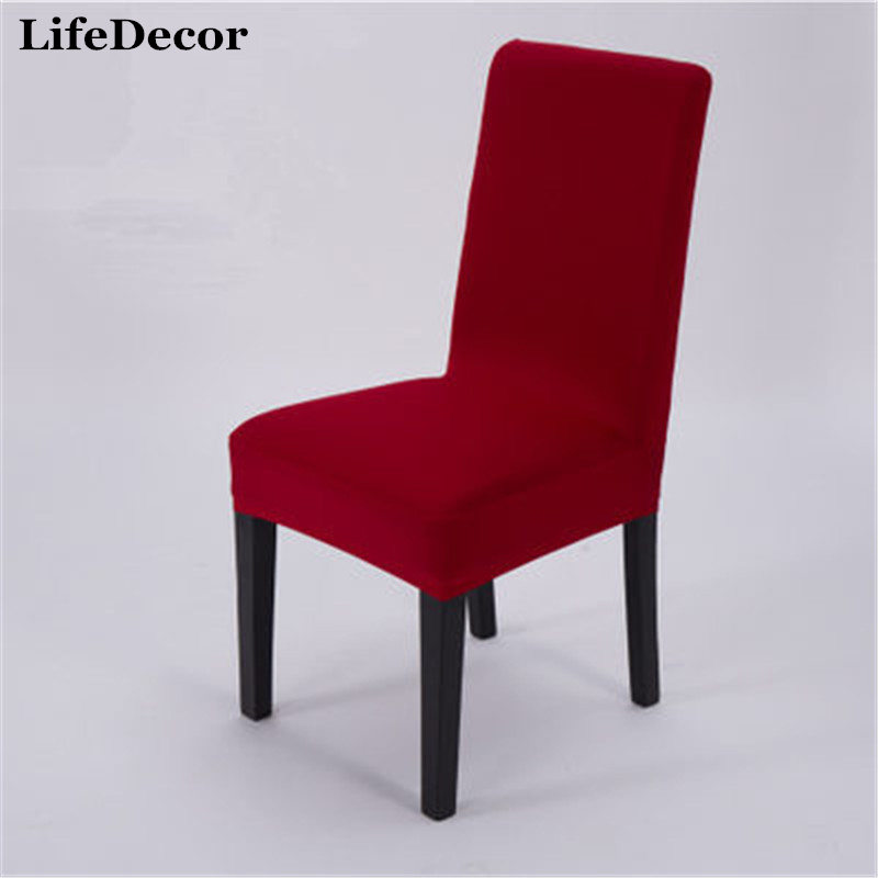 Gray Chair Covers For Weddings Lift Sale っhome Cover Wedding Decoration Solid Colors Polyester Spandex Home Dining Party Universal Sizes New