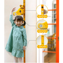 3D Cartoon Height Measure Wall Sticker 1PC Removable Children Chart Decal for Kids Baby Room 0626#30