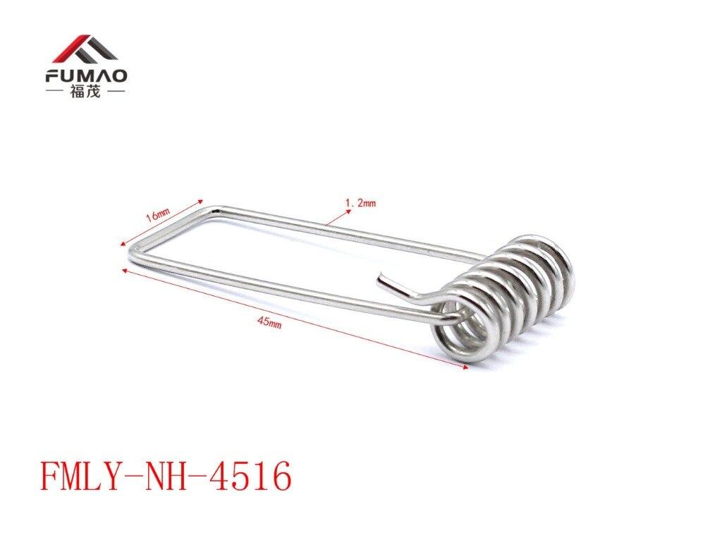 Купить с кэшбэком Manufacturer Nickel  downlight torsion spring clip for lighting ceiling