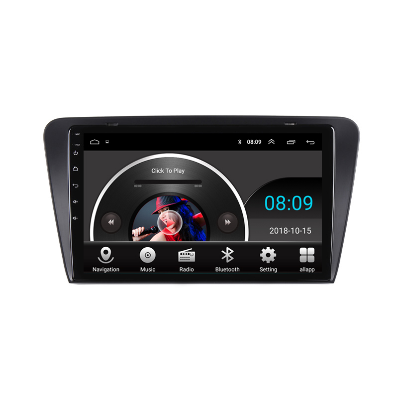 """Perfect 10.1"""" 2.5D IPS Android 8.1 Car DVD Multimedia Player GPS For Skoda Superb 2016 2017 2018 audio car radio stereo navigation 13"""