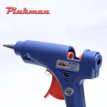 20W EU US Plug Hot Melt Glue Gun with 7mm Glue Stick Industrial Mini Guns Thermo Electric