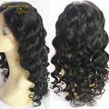 Unprocessed virgin Malaysian glueless full lace human hair wigs no tangle no shedding full lace human hair wigs free shipping