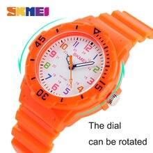 Модные skmei Повседневные детские часы 5bar Водонепроницаемый