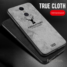 Case for Xiaomi Pocophone F1 Cloth Deer Case For Xiaomi Mi A2 lite Mi 8 6X A2 Cover For Redmi 5Plus Note 5 Pro 6 Pro 6A Capa(China)