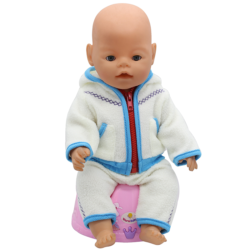 Baby-Born-Doll-Clothes-Fit-43cm-Zapf-Baby-Born-Doll-Cute-Jackets-and-Jumpers-Rompers-Doll-Clothes-Children-Birthday-Gifts-T-6-3