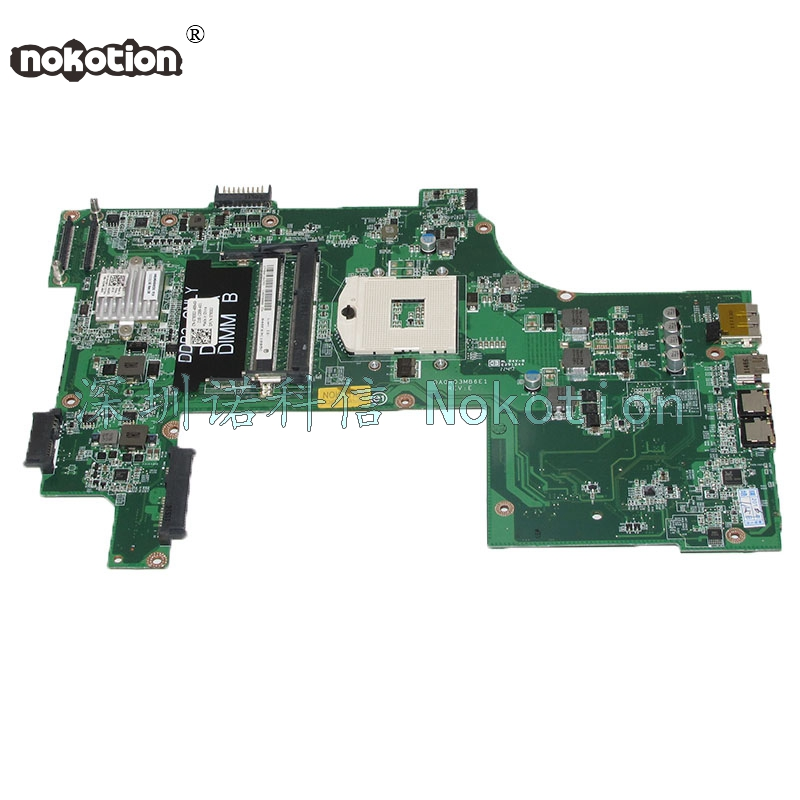 NOKOTION DA0R03MB6E1 CN-07830J 07830J 7830J For Inspiron 17R N7110 laptop motherboard HM67 DDR3 Mainboard nokotion sps v000198120 for toshiba satellite a500 a505 motherboard intel gm45 ddr2 6050a2323101 mb a01