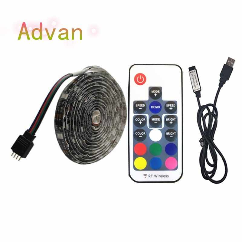 DC5V USB LED strip 5050 RGB RGBW White 50CM 1M 2M TV Background Lighting Flexibe LED strip Adhesive Tape IP20 / IP65 waterproof