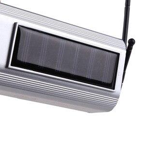 Image 5 - Simülasyon güneş enerjisi sahte kamera kamera yanıp sönen LED ışık kapalı açık ev güvenlik Video gözetim CCTV aksesuarları