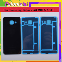 battery samsung galaxy 10Pcs/lot For Samsung Galaxy  A3 2016 A310 A310F A3100 Housing Battery Door Rear Back Glass Cover Case Chassis Shell Replacement (3)