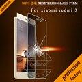 Xiaomi Redmi 3 Tempered Glass Screen Protector xiaomi redmi 3 pro Clear Screen Glass Protective Film For xiaomi redmi 3s 0.26mm