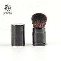 ENERGY Brand Professional Retractable Kabuki Blush Powder Brush Goat Hair Make Up Makeup Brushes Pinceaux Maquillage