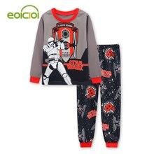 3b47757b8 Spring autumn long sleeved Kids Pajamas Sets boys pattern night suit  Children cartoon Sleepwear Girls Kids T Shirt Pants Set-in Pajama Sets from  Mother ...