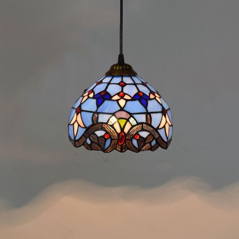 Small Colorful 1 Light Pendant Lights