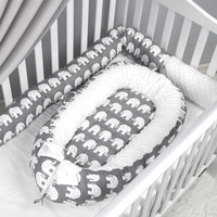 New Design Baby Nest Bed Crib And Washable Crib Travel Bed For Children Infant Kids Cotton Cradle For Newborn Bumper