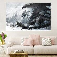 Vintage Dragon Pictures of Ancient Landscape Fantasy Artwork