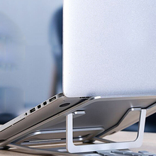 Универсальная Складная подставка для ноутбука охлаждающая подставка Складная спасательная подставка из алюминиевого сплава подставка для планшета подставка для ноутбука