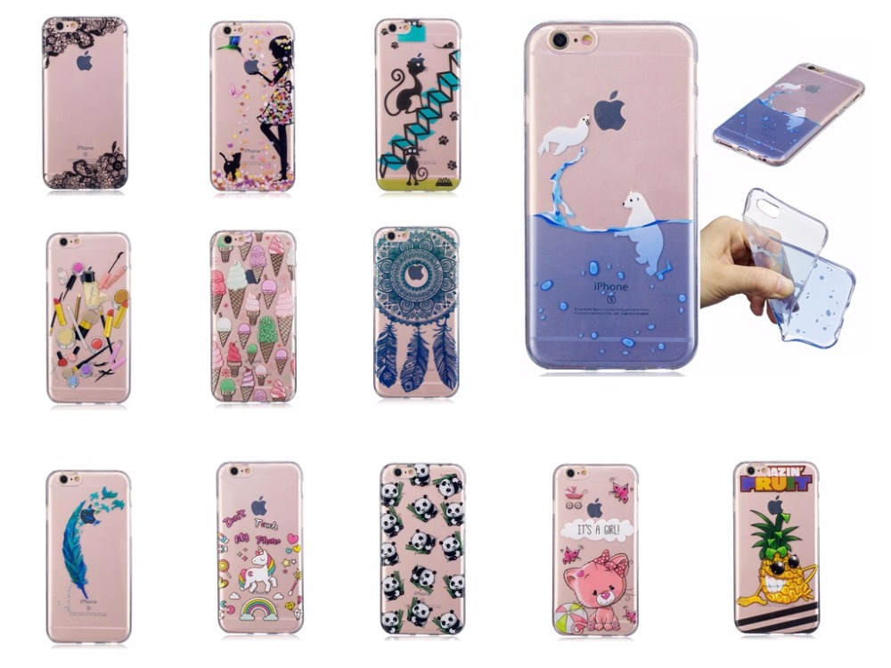 Pretty Diverse Pattern Cases For Apple Iphone 5 5S SE Anti-proof Phone Case TMD+TPU Soft Phone Cover for Iphone 6 6S Plus