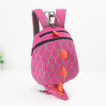 Cute Dinosaur Shaped Anti-Lost Toddler's Rein Backpack