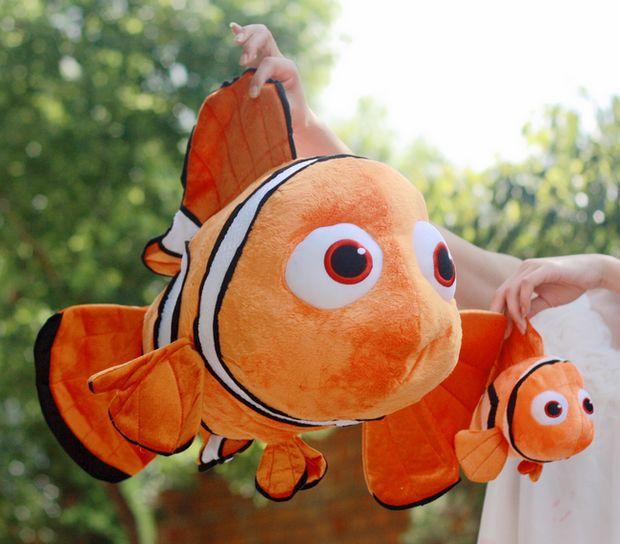 lovely fish cartoon small clownfish cute fish nemo birthday gift about 40cm